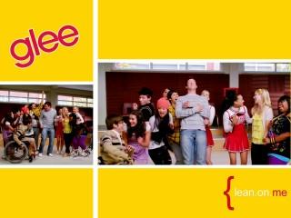 Glee Cast Wallpaper Lean On Me Gleetv Livejournal