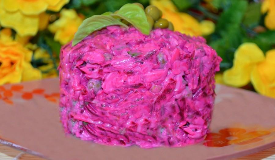 Свекольные салаты рецепты с фото