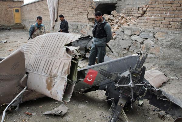 Курды о сбитом самолете