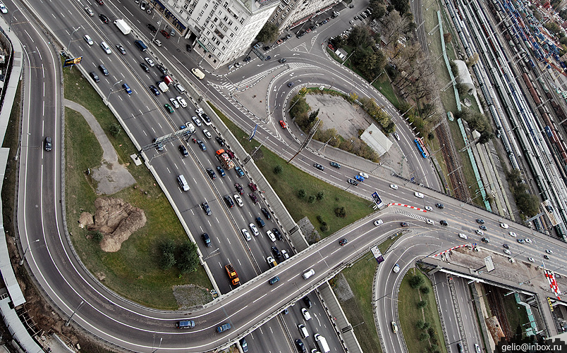 Пересечение ул. Беговой и 3-го транспортного кольца.