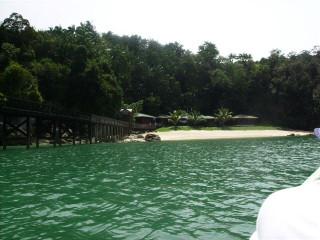 Pulau Lakei beach