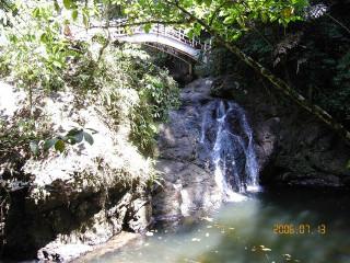 Serian waterfall