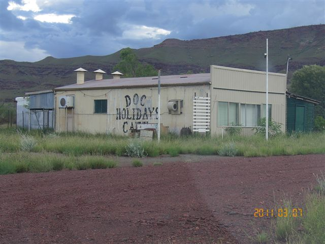 Wittenoom - Doc Holiday's Cafe