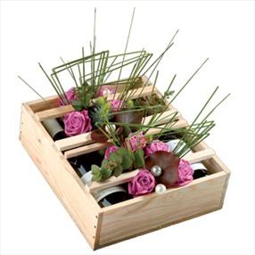 wine roses bouquet belgium