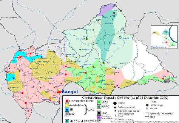 Что творится в Центрально-Африканской республике