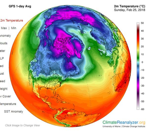 Теплое дуновение арктического воздуха