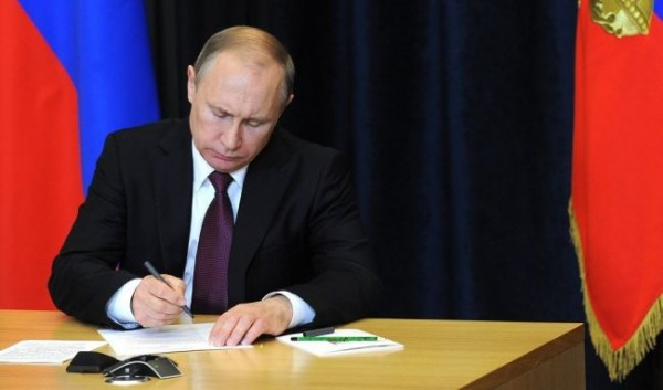 Путин ввёл ограничения для недружественных стран