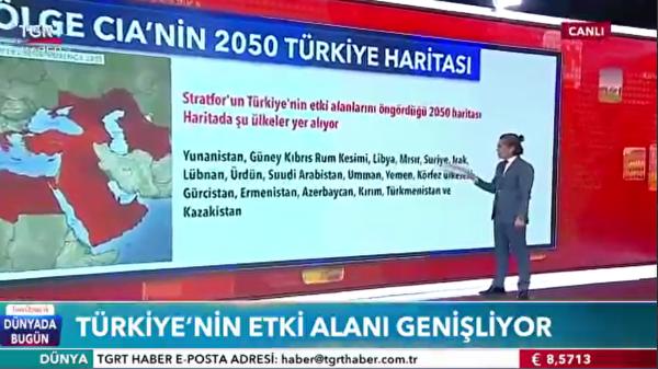 Турция: захватнические планы в отношении российских (и далеко не только) территорий