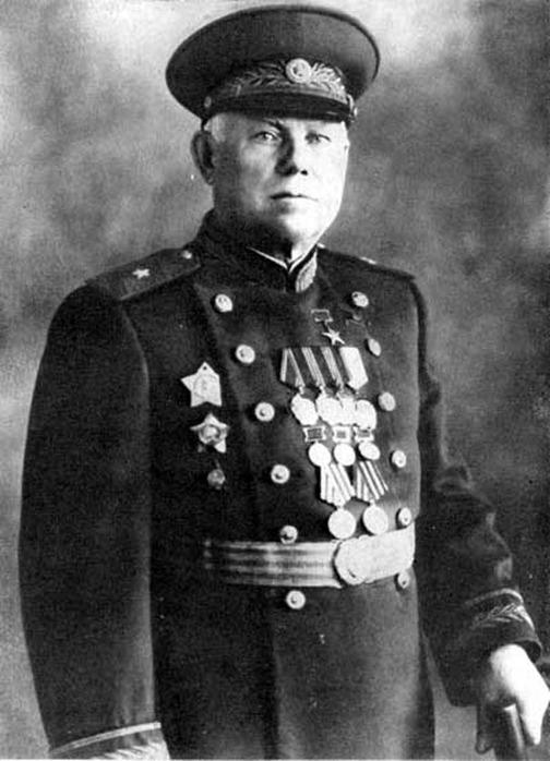 Генерал-майор инженерно-артиллерийской службы Василий Алексеевич Дегтярёв