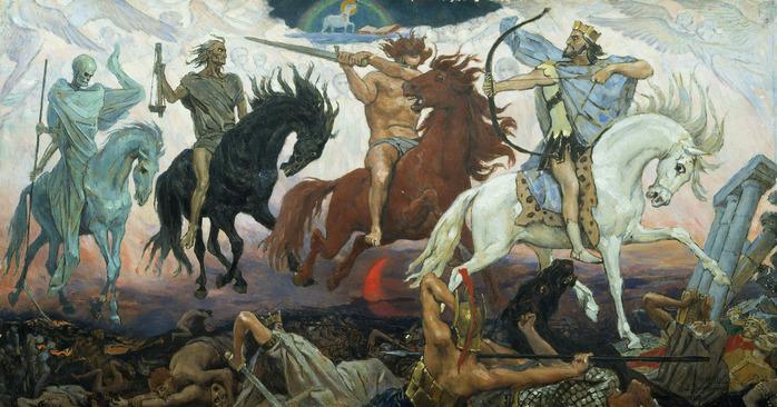 Воины апокалипсиса Васнецов