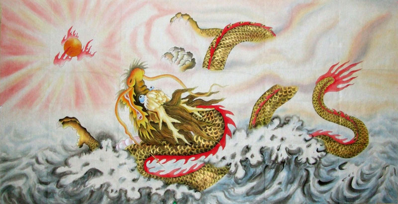 Китайский дракон 2