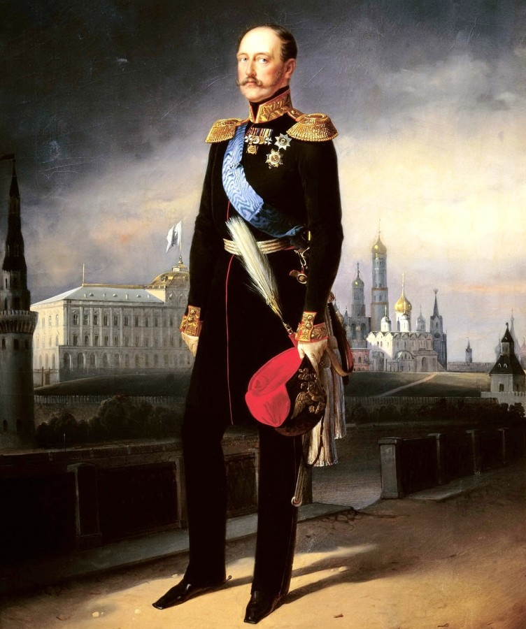 Егор Ботман Портрет императора Николая Первого