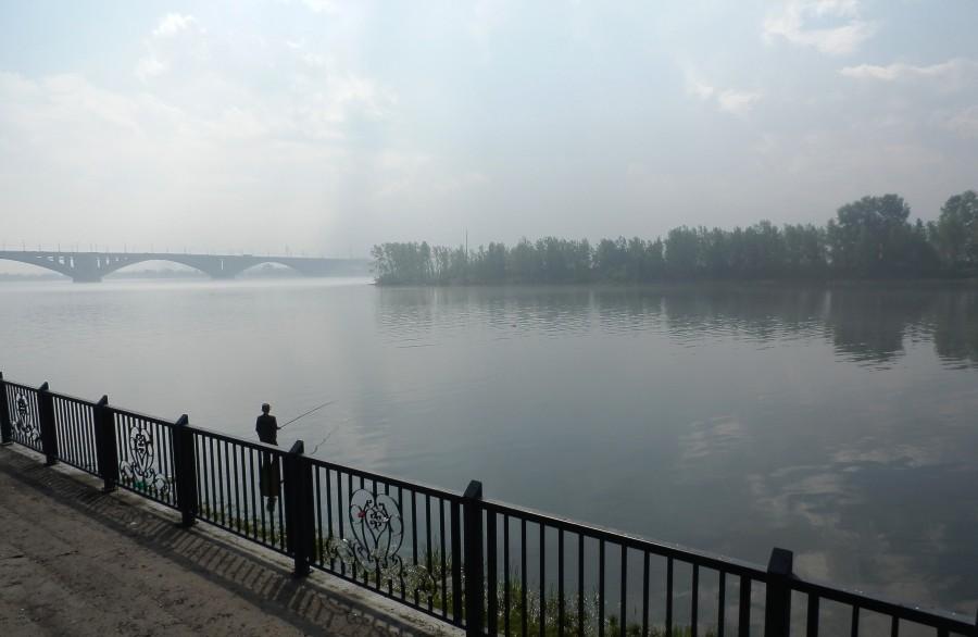 Фото Николай Юрлов Туман над рекой
