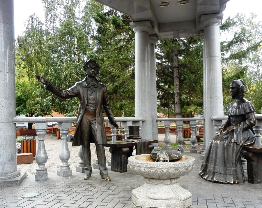 Фото Николай Юрлов Александр Сергеевич и Наталья Николаевна Пушикны
