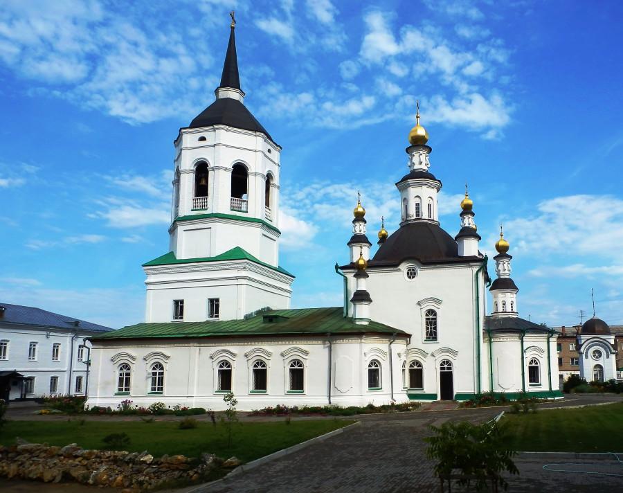 Фото Николай Юрлов Казанский храм Богородице-Алексеевского монастыря