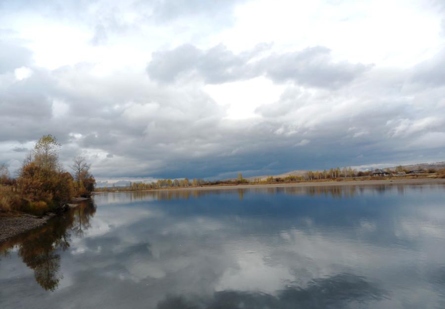 Фото Николай Юрлов Амыл - река саянская
