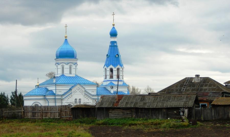 Фото Николай Юрлов Храм в Кочергино