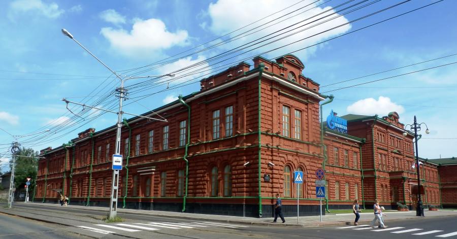 Фото Николай Юрлов Здание Томской мужской гимназии