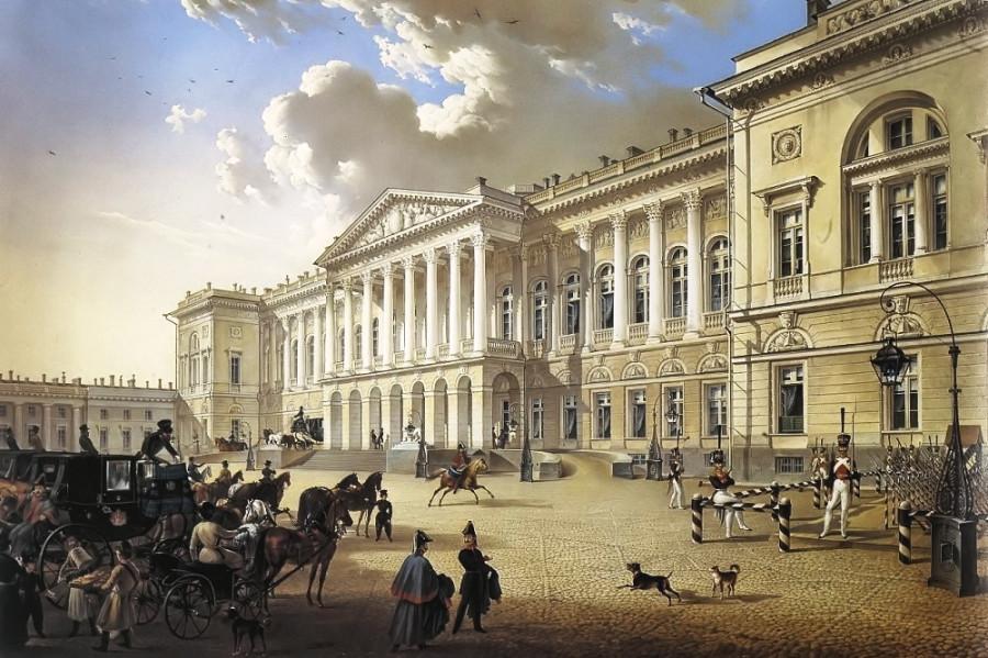 Карл Беггров Михайловский дворец