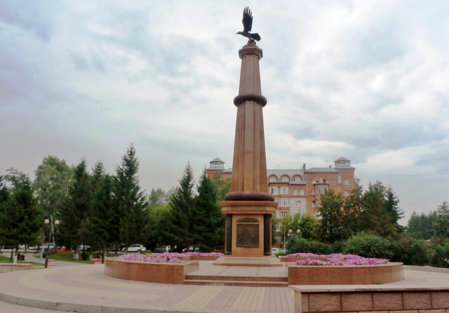 Фото Николай Юрлов Памятник Томскому пехотному полку