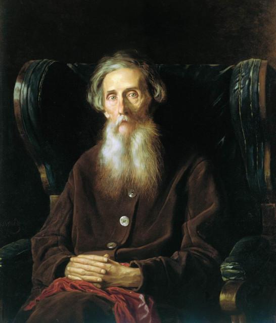 Василий ПЕРОВ Портрет В.И.Даля