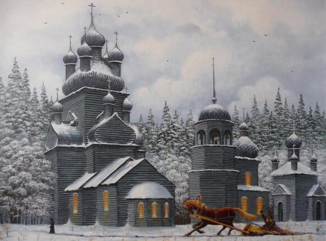 Владимир Марков Чекуевский погост