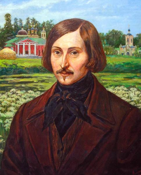 Филипп Москвитин Гоголь в Оптиной пустыне