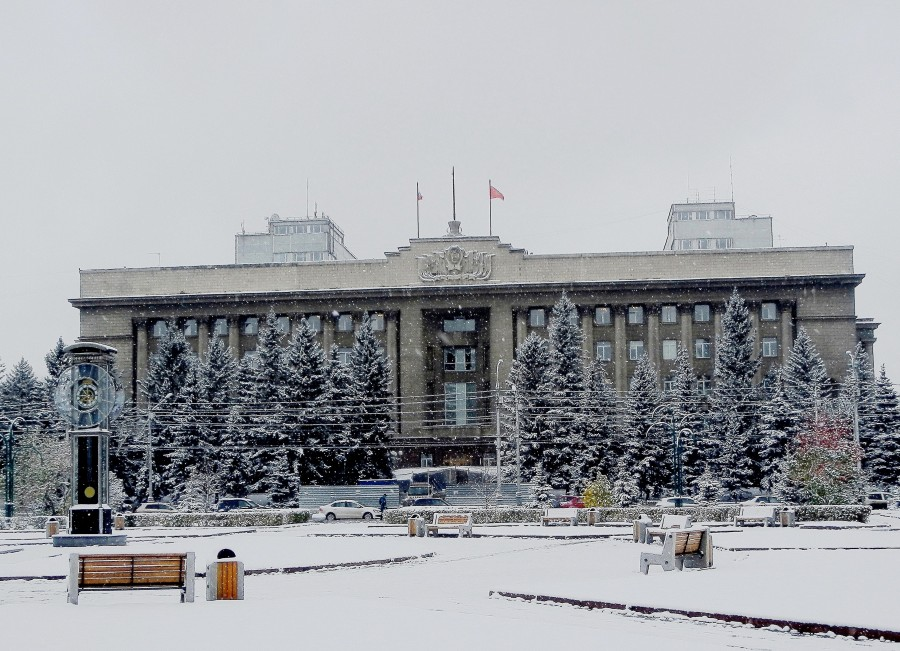 Городские часы Фото Николай Юрлов