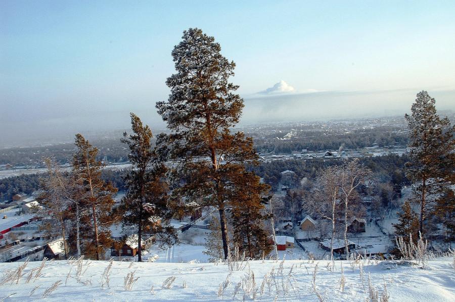 Фото Валерий Корчин Смотровая площадка Якутск