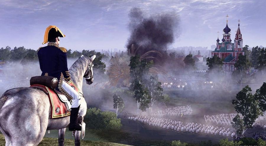 Наполеон с пластиной в голове