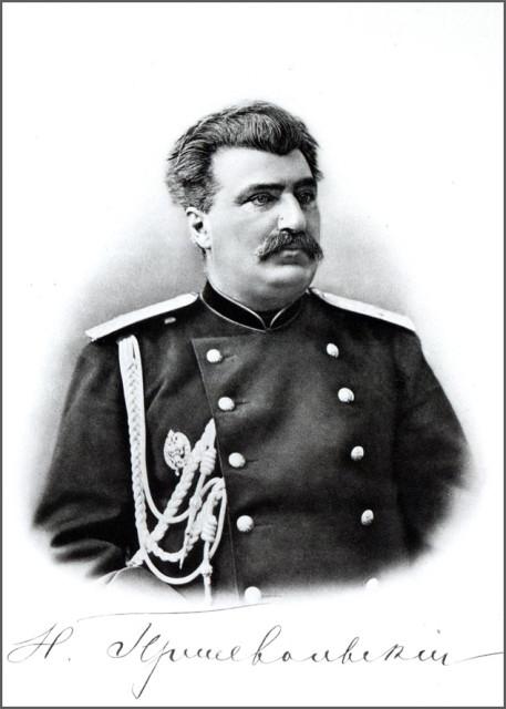Портрет Николая Пржевальского