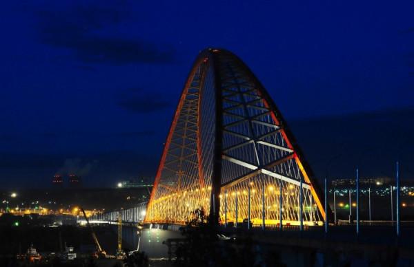 Бугринский мост 3