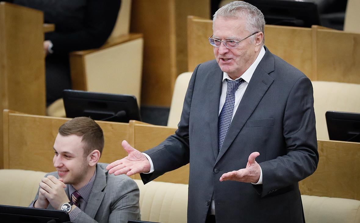 Г-н Жириновский. (Фото: Сергей Севостьянов/ТАСС)