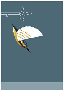 75.Print-Kingfisher-of the Irish Bird Series by Alan Nagle.jpg