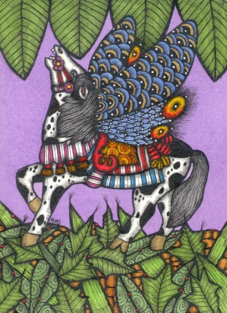 The Butterfly Horse! The Complete Being! Born of Twin Souls (or Soul Mates)