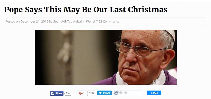 Последнее Рождество 1