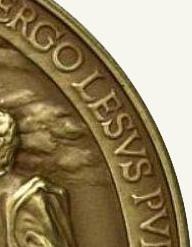 Монета Ватикан (фрагмент )