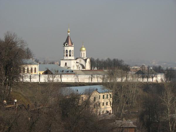 монастырь - кремль