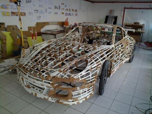 Как сделать автомобиль в домашних условиях своими руками