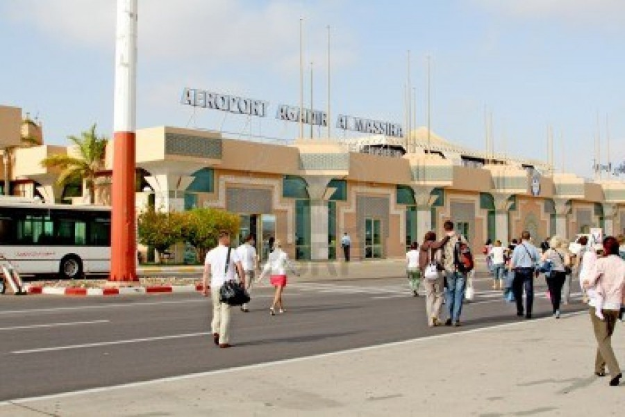 14597467-the-al-massira-airport-in-agadir-south-morocco