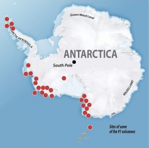 Antarctica-91-newly-discovered-volcanoes