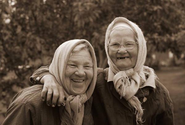 старушки