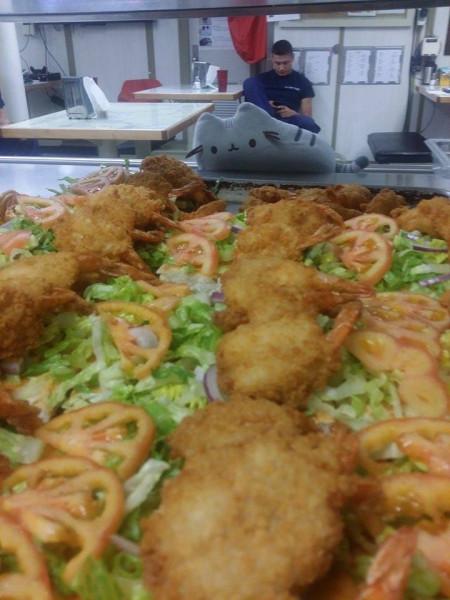 Pusheen and Shrimp