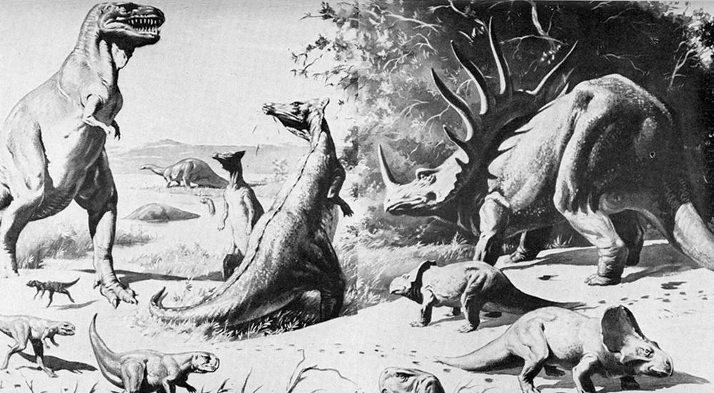 Эра ящеров в реконструкциях Рудольфа Заллингера