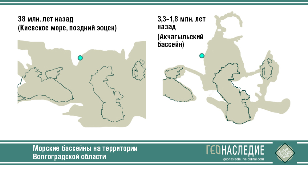 Морские бассейны на территории Волгоградской области