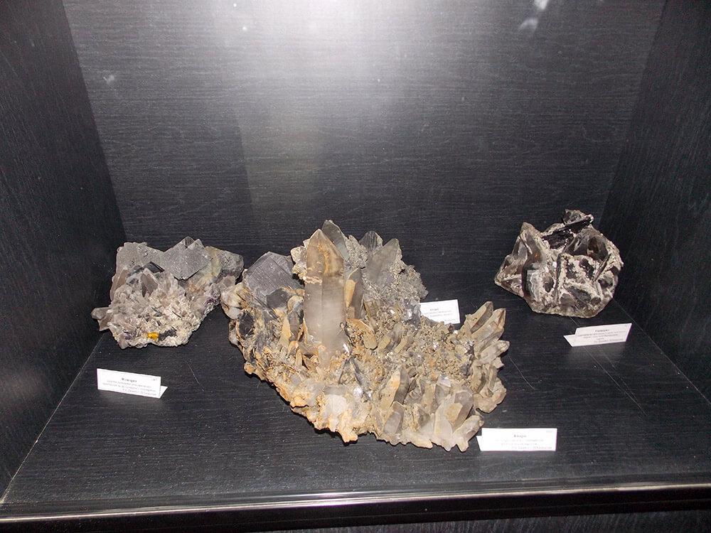 Минералы с рудника имени Джамбула