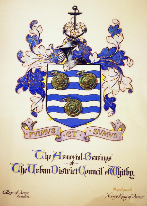Герб города Уитби