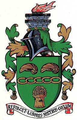 Нижние створки раковинок грифей на гербе Сканторпа
