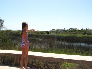 Julia at the Lagoon