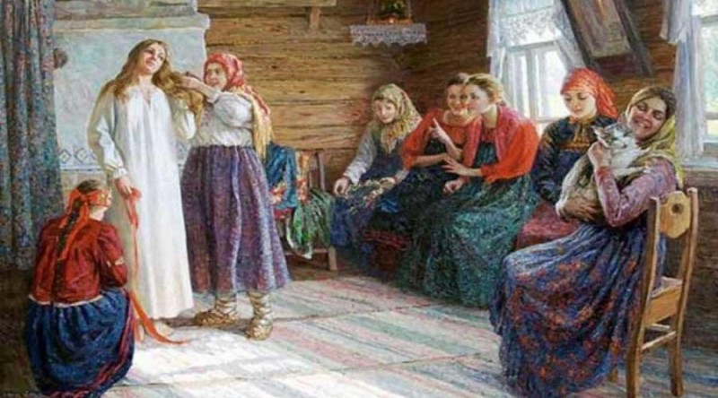 Н. А. Антохина-Куракса. «Крестьянская свадьба». 2004 г.